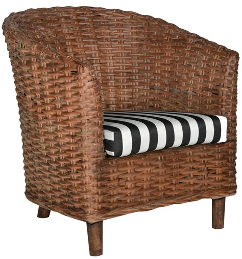 rattan barrel chair cushions safavieh