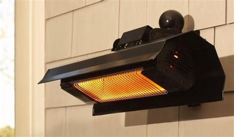wall mounted infrared patio heater exterior spaces