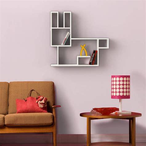 Mensole A Muro Bunny Mensola Design A Muro In Legno Per Cameretta Bambini