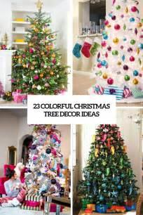 23 colorful tree décor ideas shelterness