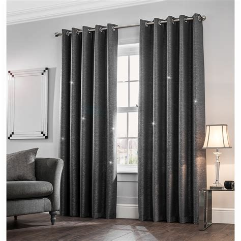 mystica shimmer thermal lined curtains    curtains