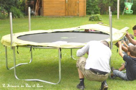 qui ne saute pas na pas de trampoline