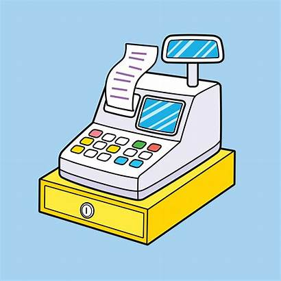 Cash Register Caisse Ticket Faux Vrai Shutterstock