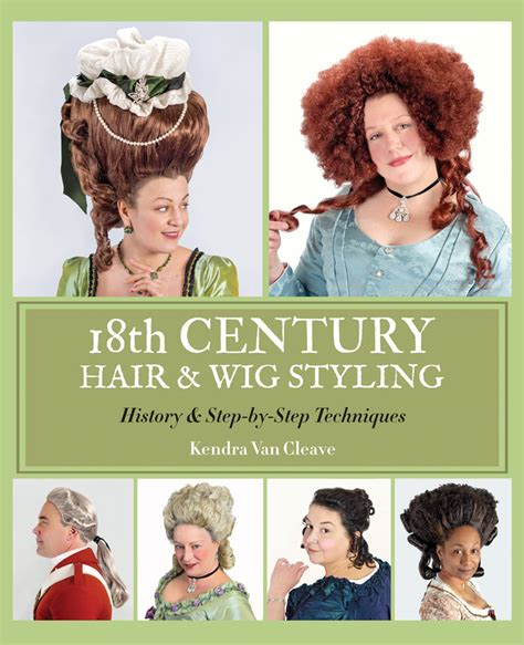 hair styling tricks about the book 18th century hair wig styling history 4063