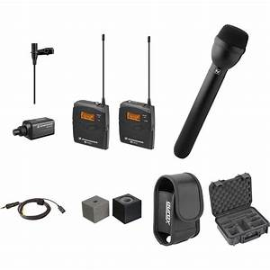 Sennheiser Ew 100 G3 Eng Wireless Deluxe Kit A1  470 To