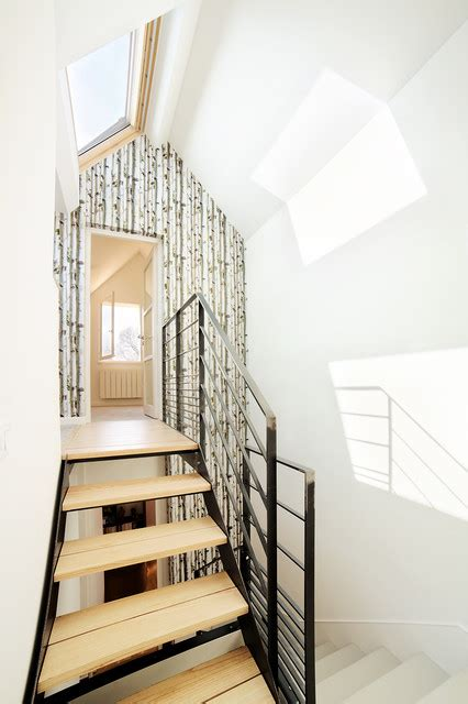 Amenagement Cage D Escalier by Am 233 Nagement Cage D Escalier Scandinavian Staircase