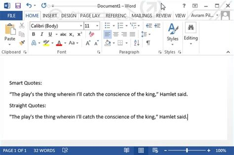 turn smart quotes in microsoft word the about how to disable smart quotes in word 2013 or word 2010