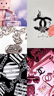 Chanel collage   iphone background    Collage iphone ...