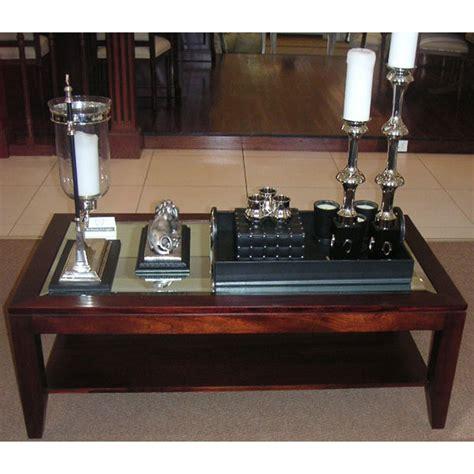 Hartmann & Keppler  Tessa Coffee Rect Table Mirror Top