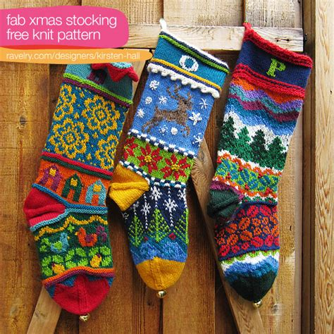 archives christmas stockings  knit