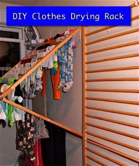 diy clothes drying rack homestead survival