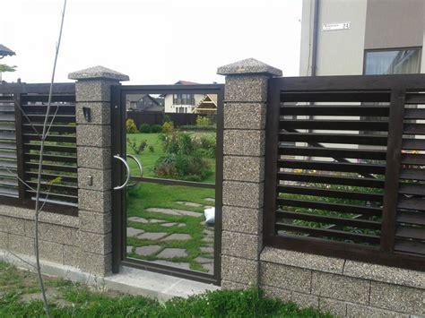 modern gates images modern fence design ideas modern house plan