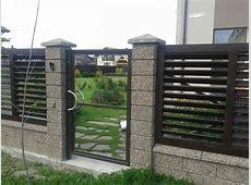 Modern Fence Design Ideas — MODERN HOUSE PLAN