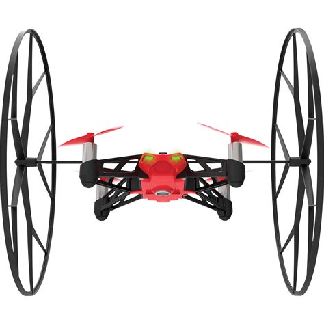 parrot rolling spider minidrone red pf bh photo video