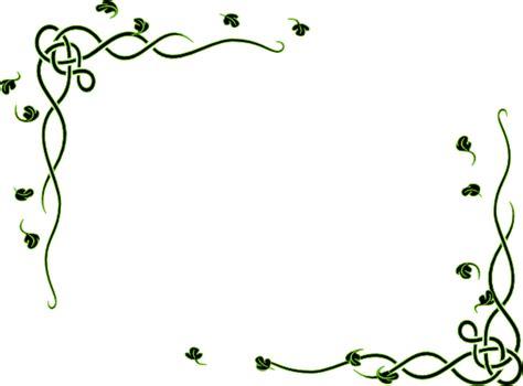 leafy frame  edited clip art  clkercom vector clip