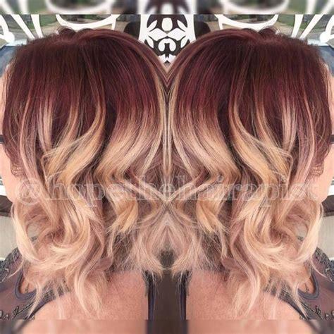 vanity hair salon  alton mo red violet shadow root