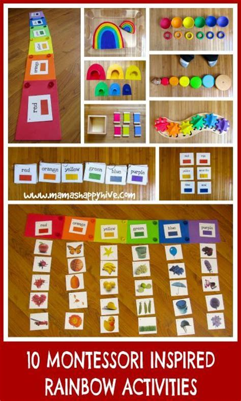 rainbow montessori preschool 17 best images about teaching colors in preschool and 454