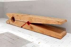 Banc Design Interieur : mod les de bancs en bois pour l 39 int rieur ~ Teatrodelosmanantiales.com Idées de Décoration