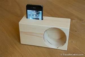 Amplificateur De Son : un amplificateur de son pour smartphone travailler le bois ~ Melissatoandfro.com Idées de Décoration