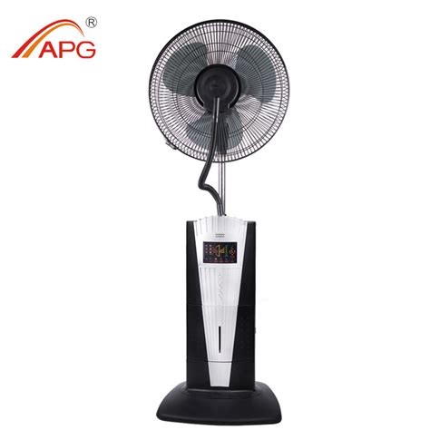16 Inch Industrial Water Mist Stand Fan With Remote