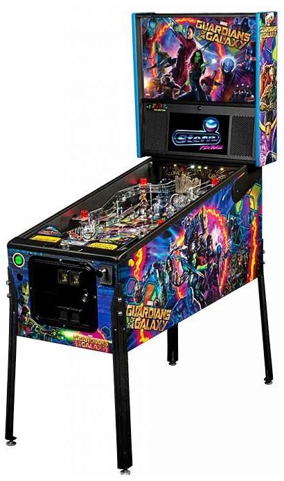 Pinball Guardians Galaxy Stern Flipperkast Machines Gad