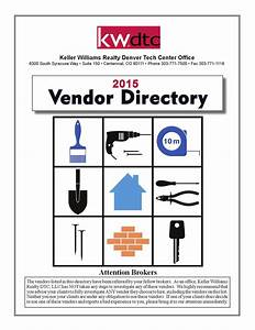 Kw Dtc 2015 Vendor Directory By Keller Williams Denver