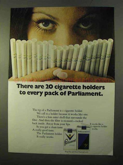 Parliament Cigarettes Ads