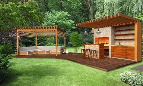24+ Artistic Outdoor Kitchen Pavillion
