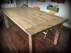 Ana White Red Hen Home Farmhouse Table - DIY Projects