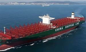 World's largest container ship arrives in Britain