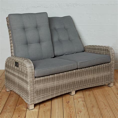Wohnzimmerfeeling Im Garten 2sitzer Sofa Aus