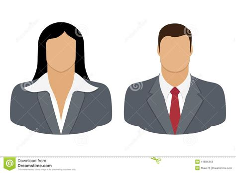 Business Person User Icon Stock Vector. Illustration Of