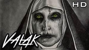 Aterrador dibujo a lápiz de Valak, La Monja Demoníaca del Conjuro 2 YouTube