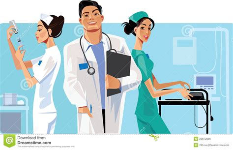 professional clipart healthcare worker pencil and in