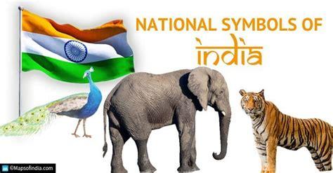 national symbols  india animal bird emblem fruit