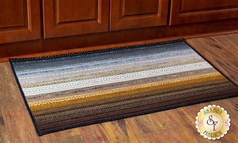 jelly roll rug  kit woolies flannel neutral shabby fabrics