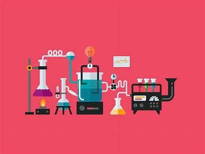 Illustration Service Devise Lab Web Animation Icon