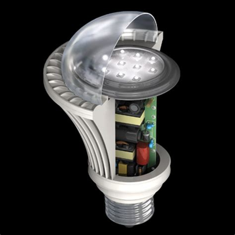 how do led light bulbs work electrical engineering