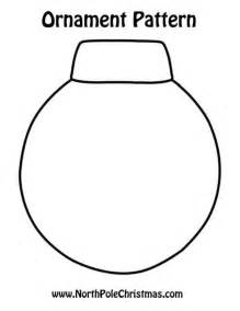 ornament template to print northpolechristmas