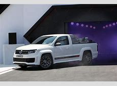 Check out Volkswagen's Verboten Amarok RStyle pickup