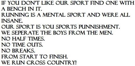 Funny Cross Country Quotes Quotesgram