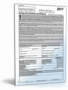 Lohnsteuer 2017 Berechnen : antrag auf lohnsteuererm igung 2017 formular zum download ~ Themetempest.com Abrechnung