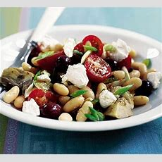 Mediterraneanstyle Bean Salad  Bbc Good Food