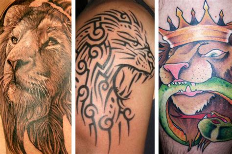 Lion Tattoo Designs And Meanings