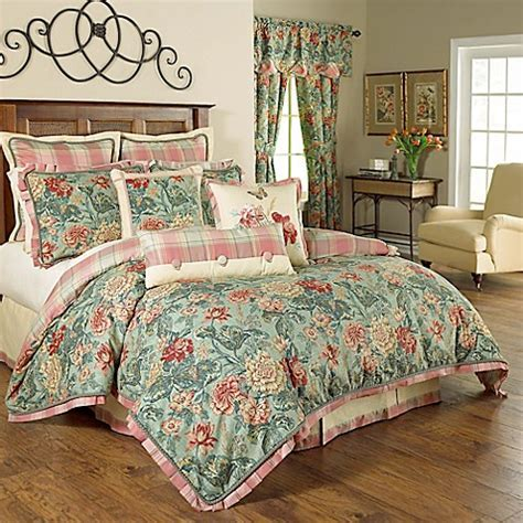Waverly® Sonnet Sublime Reversible Comforter Set in Jewel