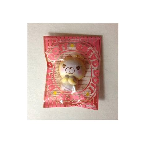 mini bread doll squishy 3 colors
