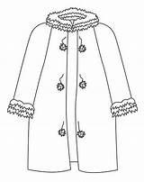 Colorear Coloring Abrigo Invierno Clothing Abbigliamento Abrigos Disegni Dibujos Colorir Desenhos Ropa Colorare Printable Websincloud Dibujar Activities Colouring Roupas Stampa sketch template