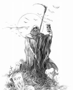 3d Grim Reaper Tattoo Tattoo Design | Male Models Picture
