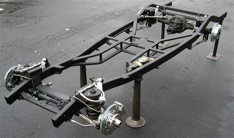 1937 – 1940 Chevy Chassis - Fat Man Fabrication