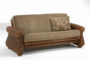 wicker futon With wicker futon sofa bed